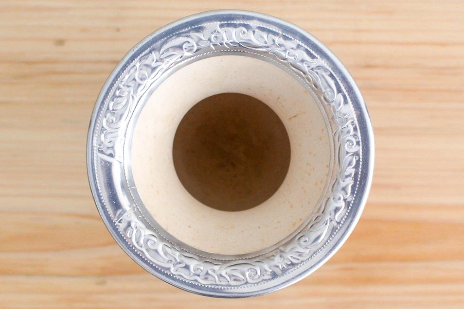como curar a cuia de chimarrão