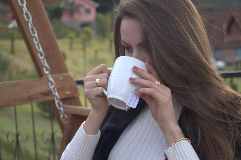 chá para aquecer no inverno